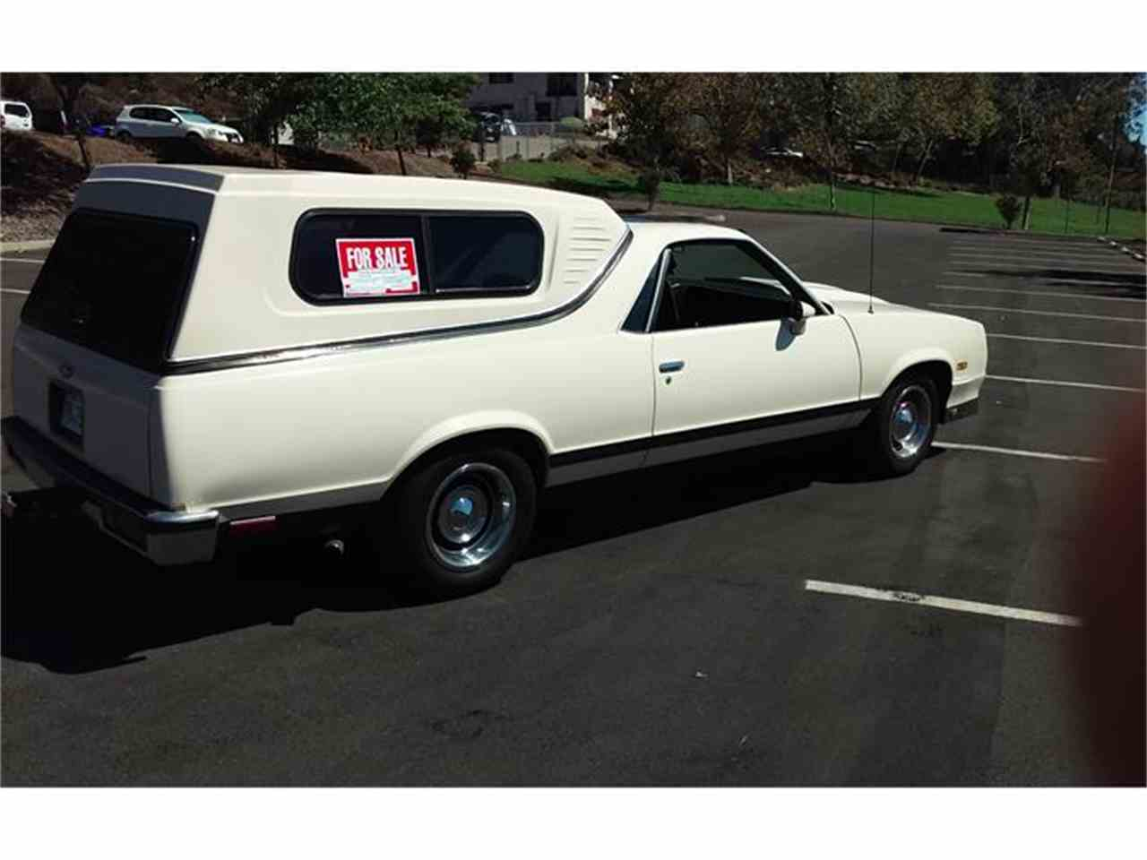 Large Picture of '83 Chevrolet El Camino located in California Offered by a Private Seller - J05V