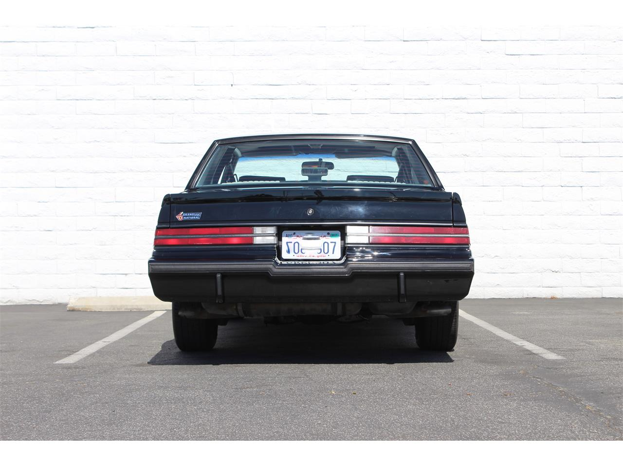 Large Picture of '87 Grand National located in California Offered by Back in the Day Classics - J062