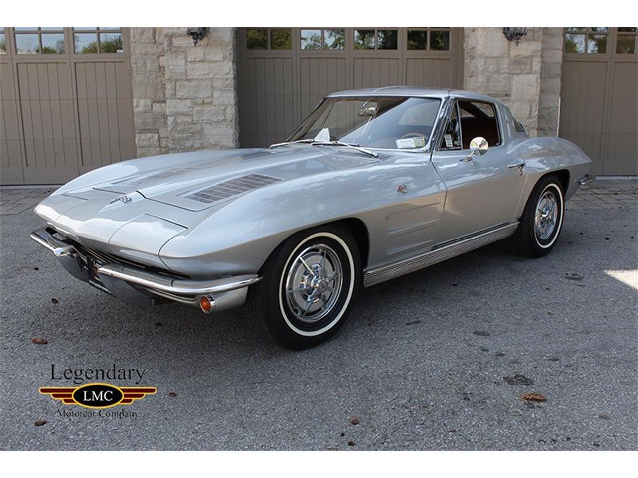 63 Split Window Corvette >> 1963 Chevrolet Corvette Coupe Split Window For Sale Classiccars