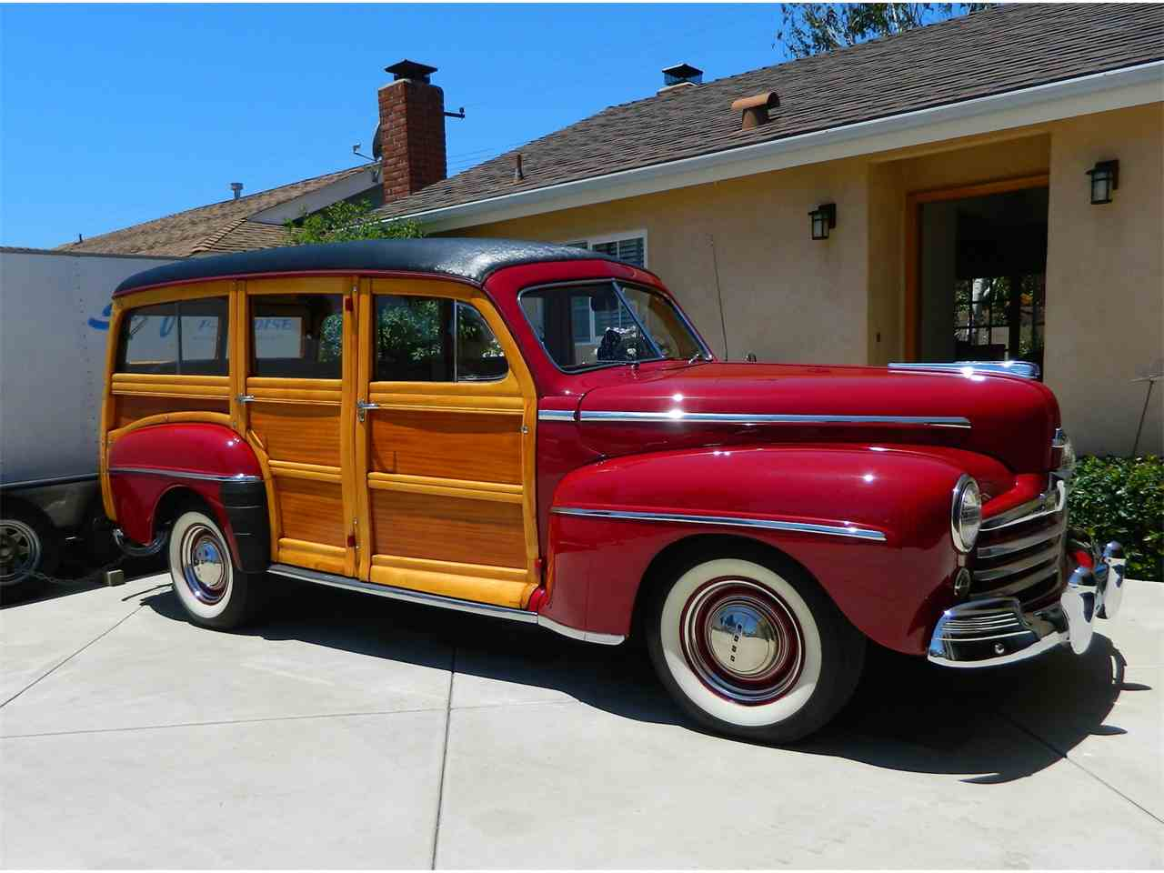 1948 ford woody wagon for sale cc 887099. Black Bedroom Furniture Sets. Home Design Ideas