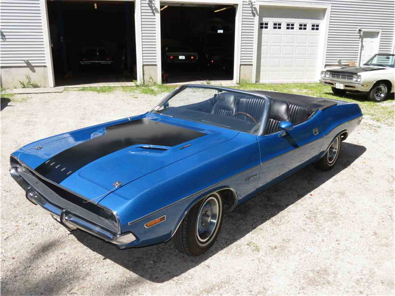 Large Picture of 1971 Challenger located in Massachusetts Offered by Silverstone Motorcars - J0QS