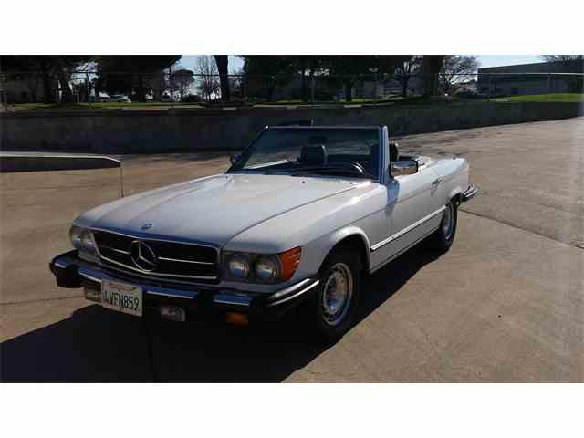 1984 mercedes benz 380sl for sale on for Buy old mercedes benz