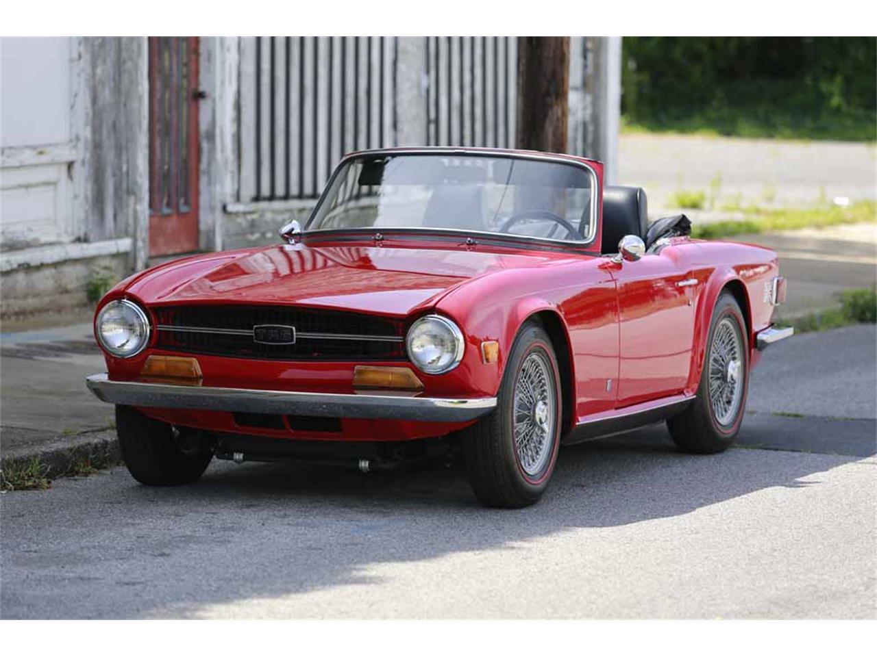 1969 Triumph TR6 for Sale | ClassicCars.com | CC-887939