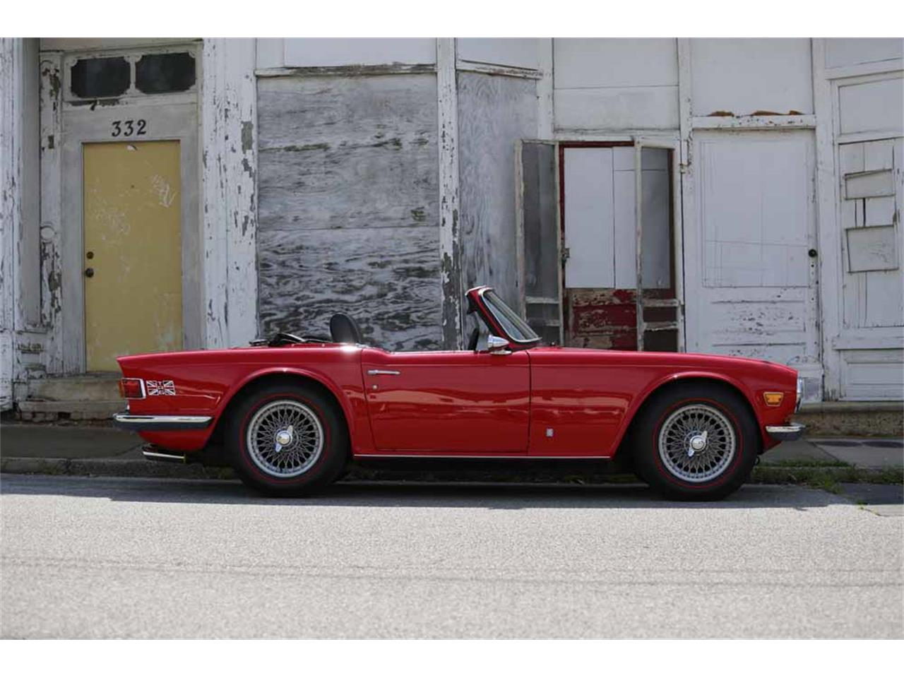Large Picture of '69 TR6 Auction Vehicle - J14Z