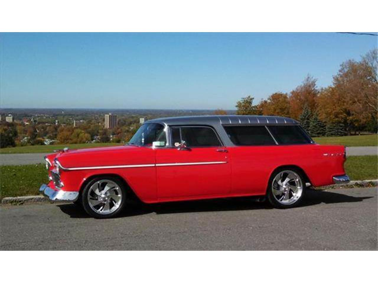 Large Picture of Classic '55 Chevrolet Nomad located in New York Offered by AB Classic Cars - J168