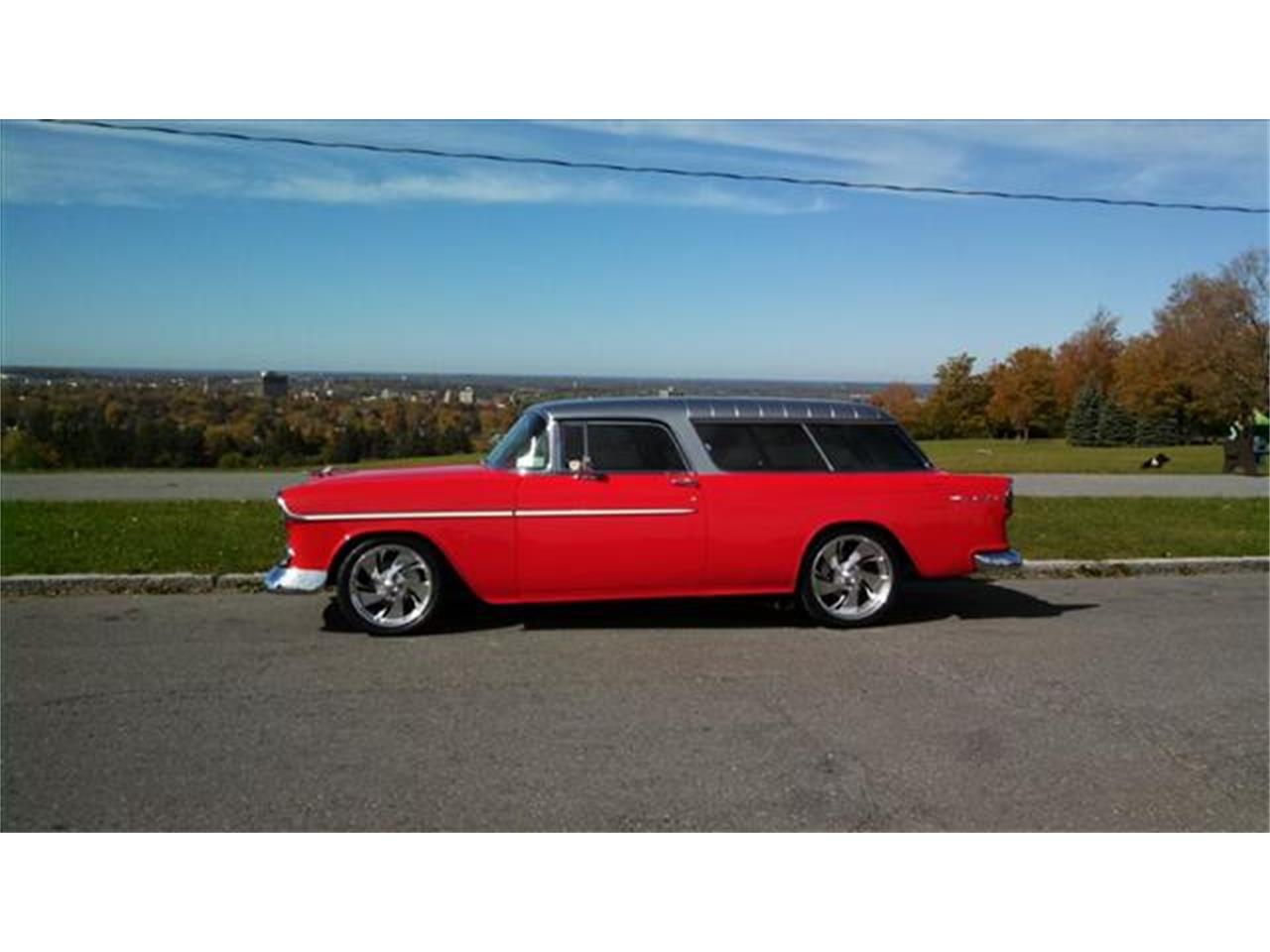 Large Picture of Classic 1955 Chevrolet Nomad located in New York Offered by AB Classic Cars - J168