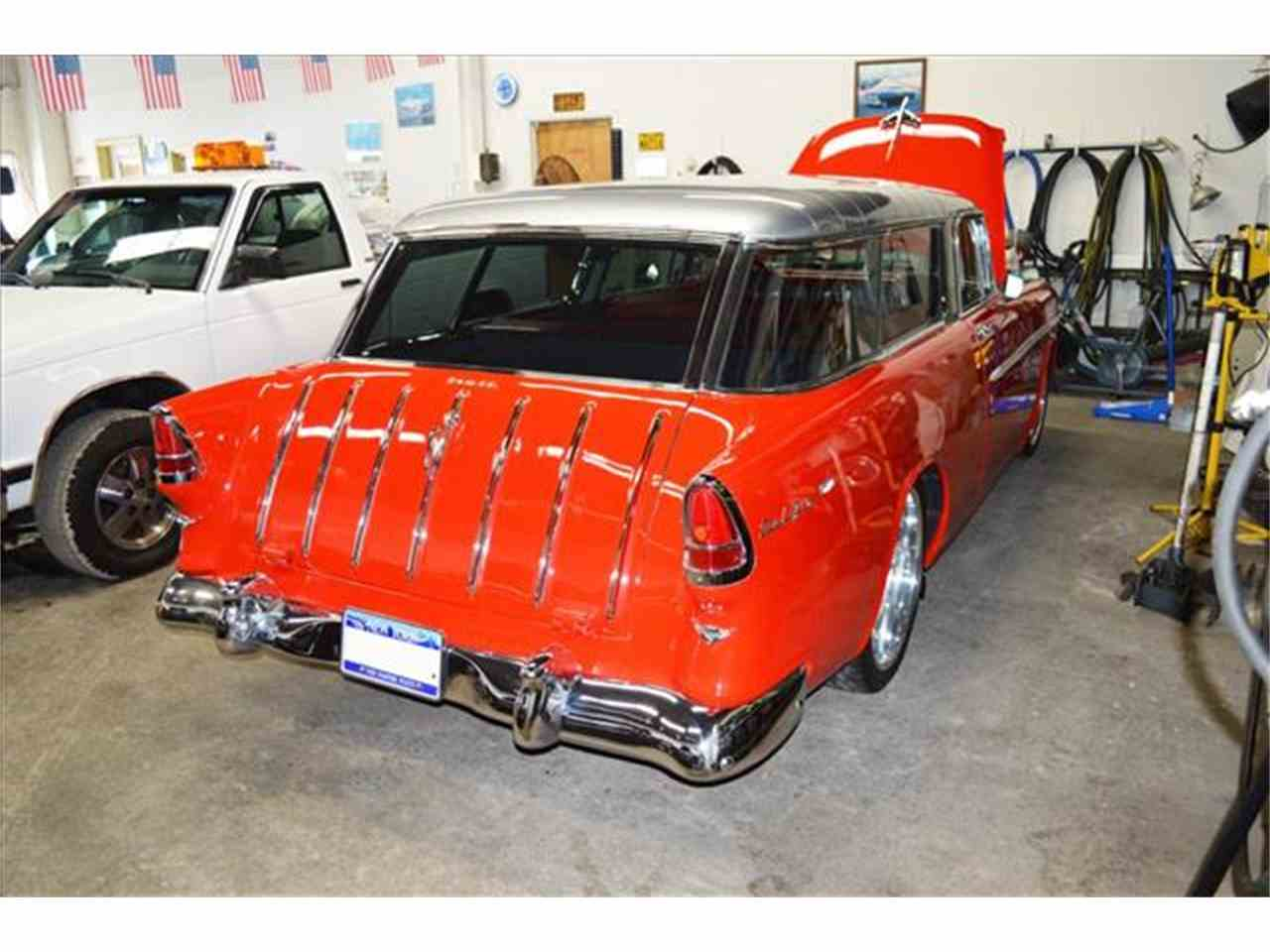 Large Picture of 1955 Chevrolet Nomad located in Malone New York Offered by AB Classic Cars - J168