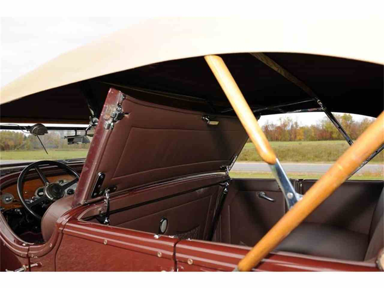 Large Picture of '29 DUAL COWL PHAETON MODEL M - J169