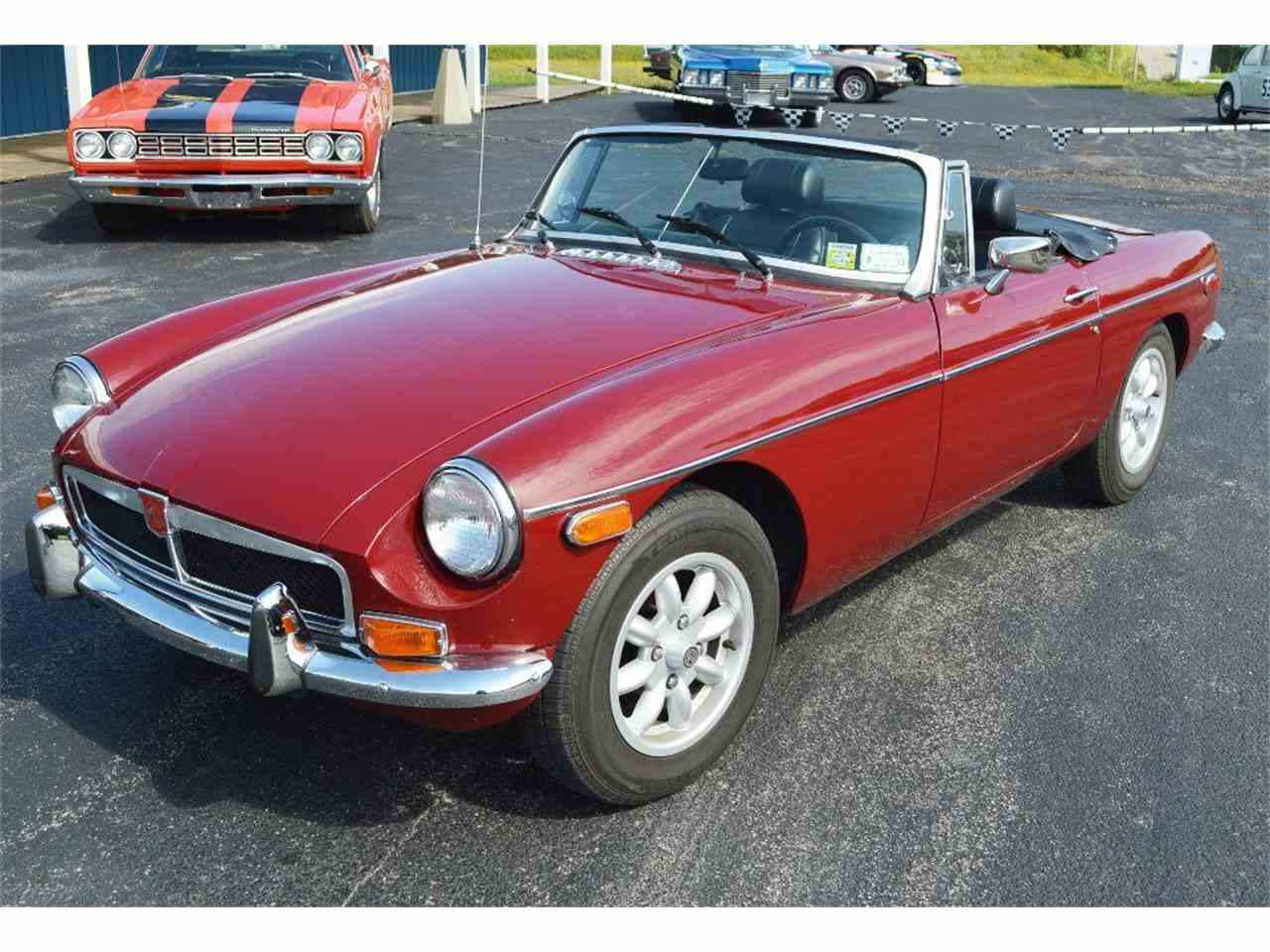 Large Picture of '74 MGB - J16R