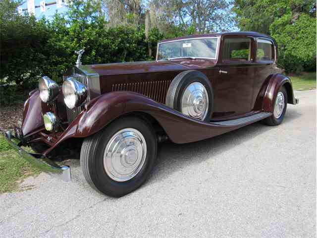 Picture of Classic 1933 Rolls-Royce Phantom II - J191