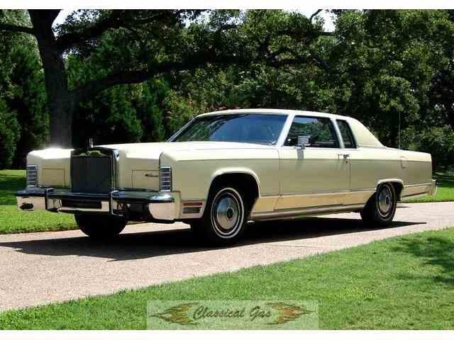 Picture of '78 Lincoln Continental located in Arlington Texas - $18,000.00 - J1E8