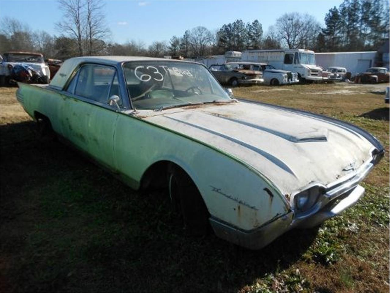 Large Picture of Classic 1961 Ford Thunderbird Offered by Classic Cars of South Carolina - J1LT