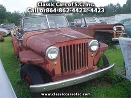 Picture of '49 Willys Jeep located in Gray Court South Carolina - $2,500.00 - J1MG