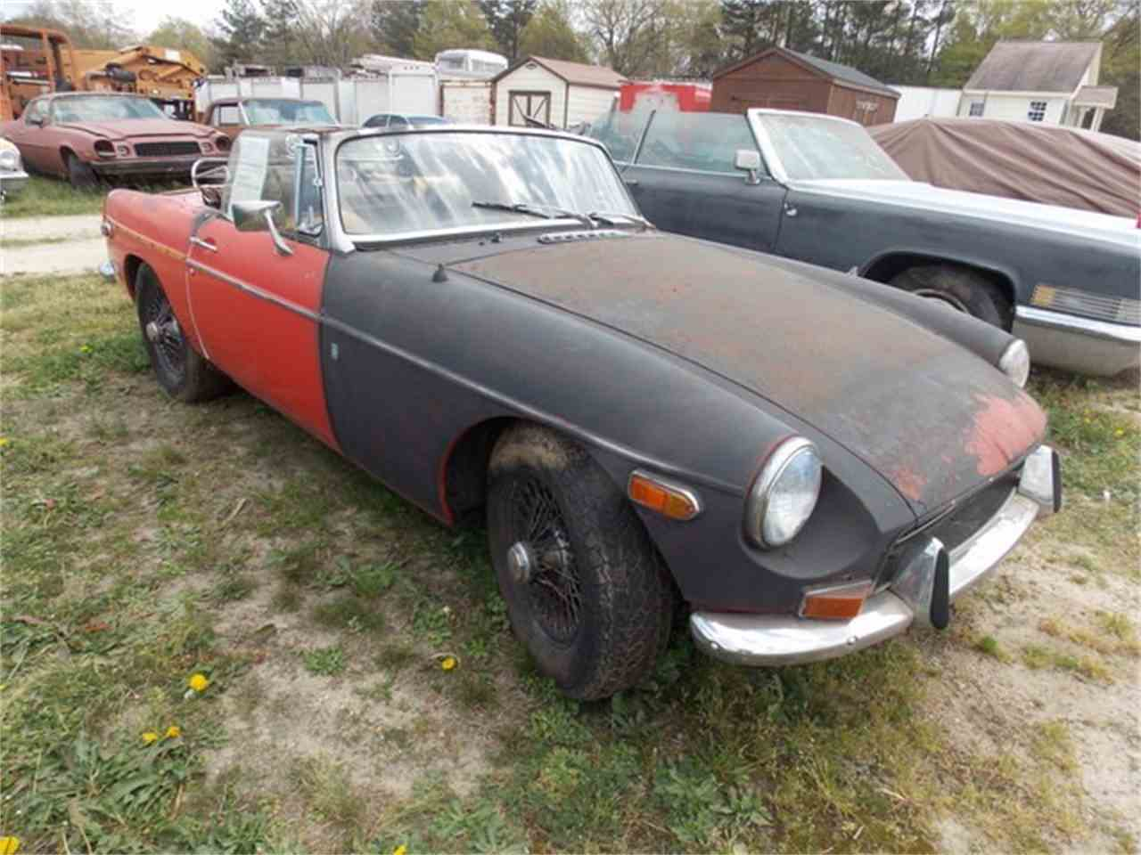 Large Picture of '72 MGB - J1MW