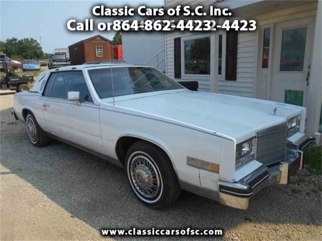 Large Picture of '84 Cadillac Eldorado located in Gray Court South Carolina - $2,300.00 Offered by Classic Cars of South Carolina - J1NU