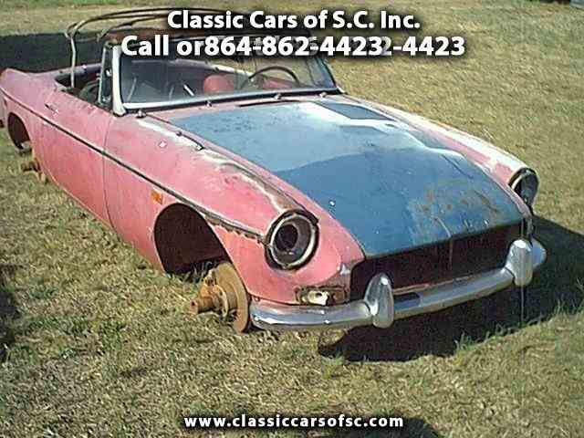 Picture of '68 MGB - J1NZ
