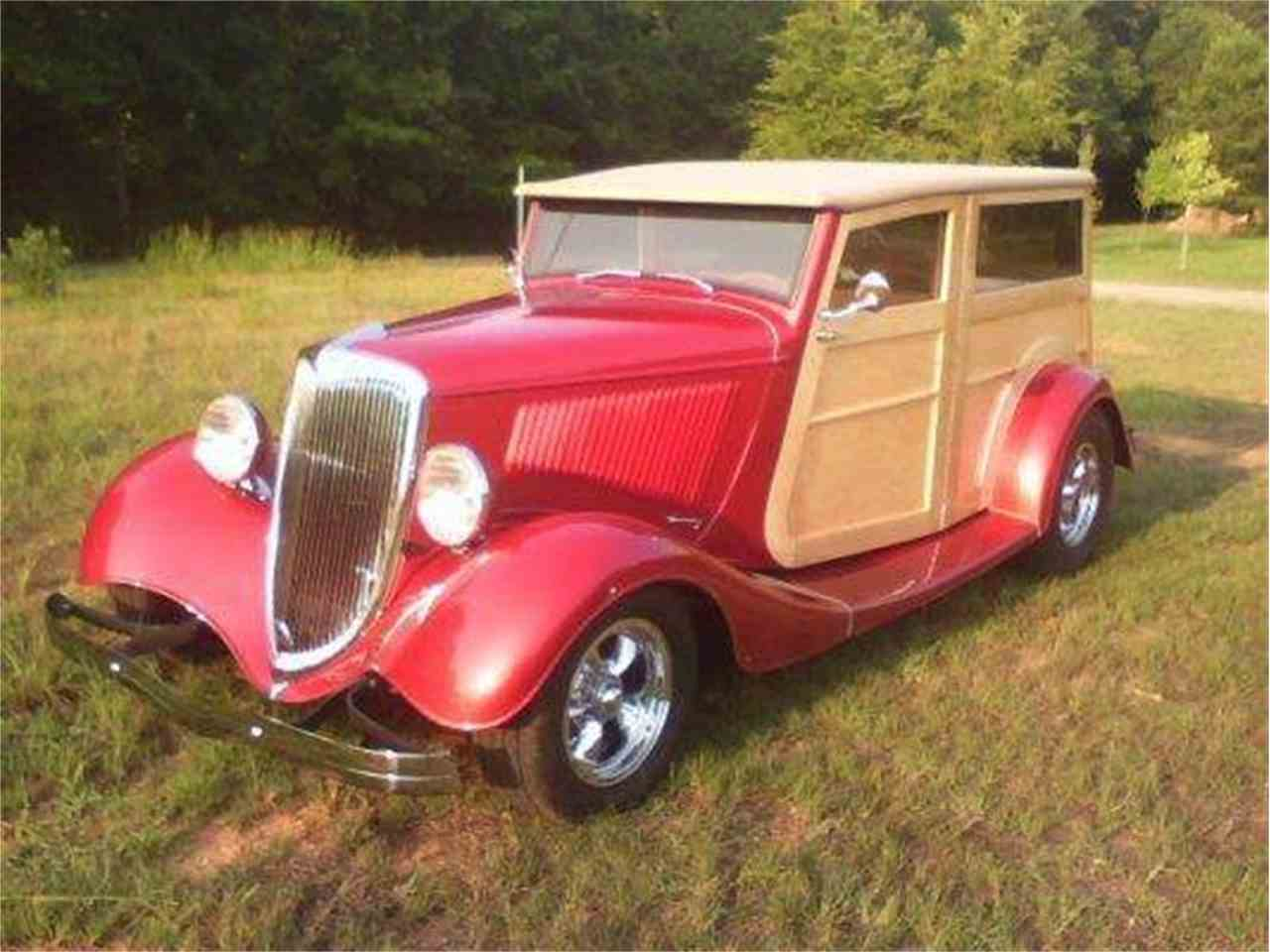 Large Picture of '34 Woody Wagon - J1PU