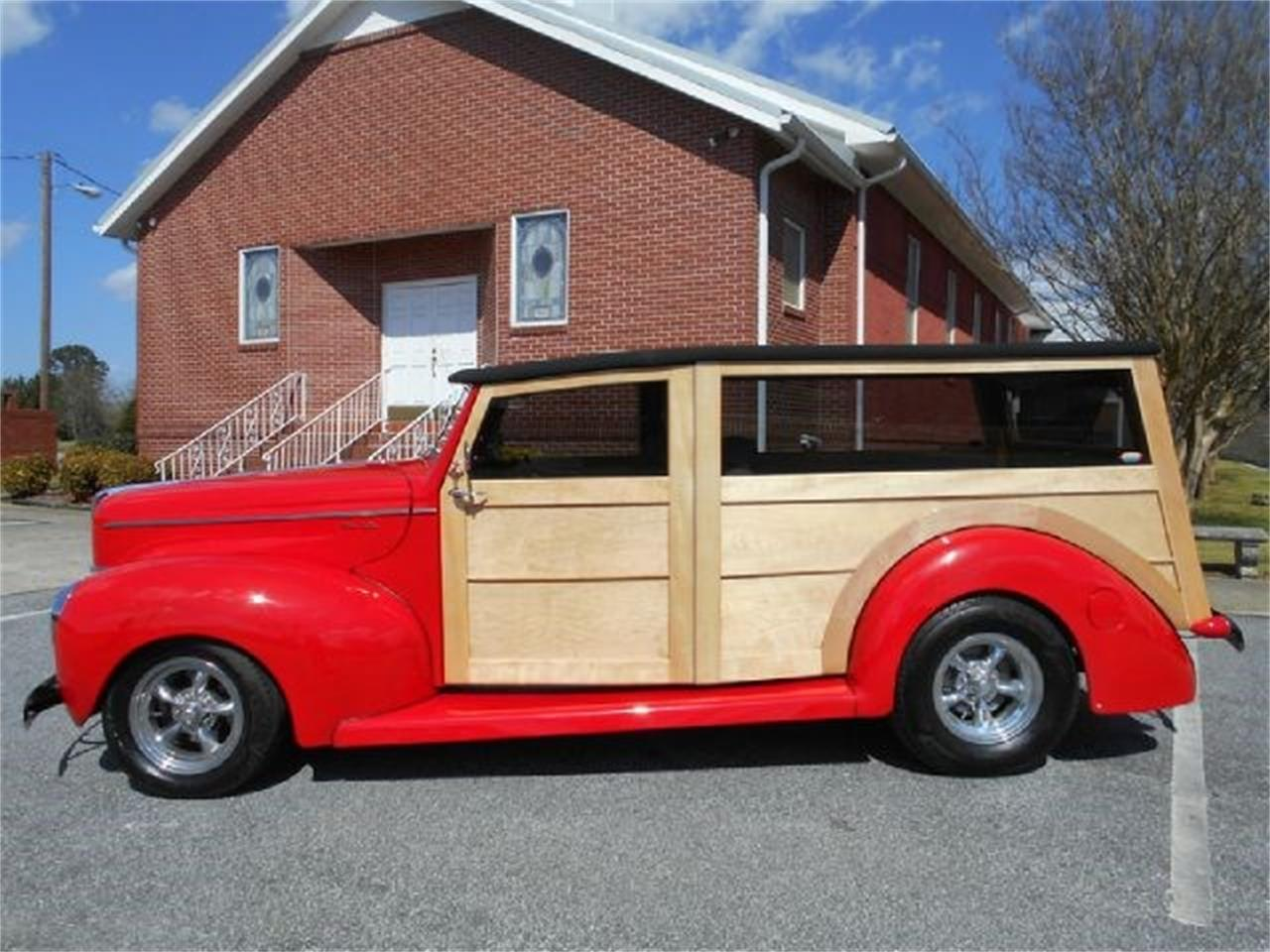 Large Picture of '40 Ford Woody Wagon located in Gray Court South Carolina - $60,000.00 Offered by Classic Cars of South Carolina - J1PW