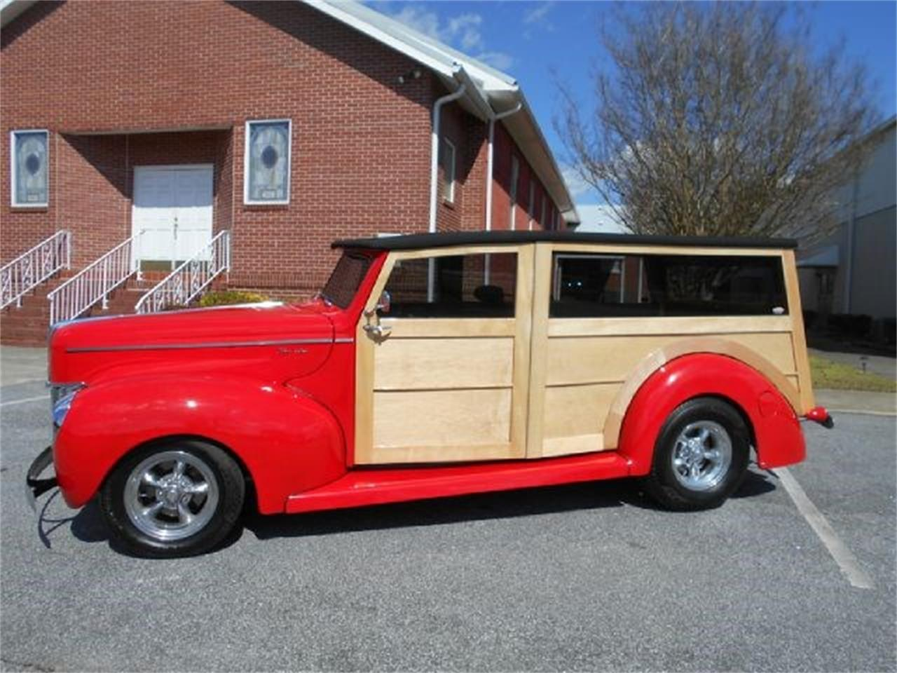 Large Picture of Classic 1940 Ford Woody Wagon located in Gray Court South Carolina - J1PW