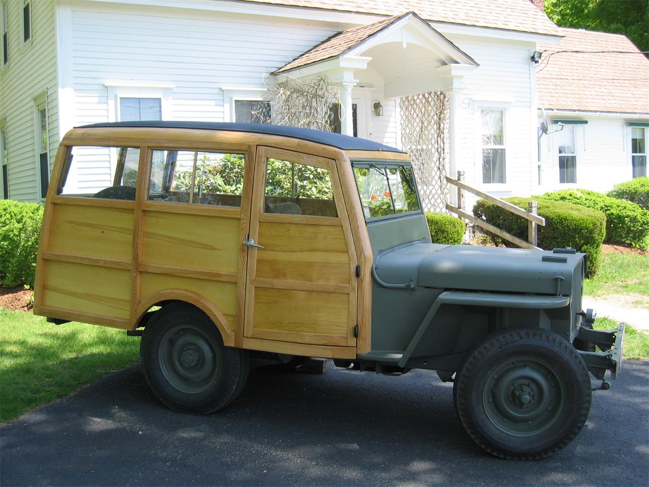 Large Picture of '45 Jeep Willys located in Massachusetts Offered by a Private Seller - J206