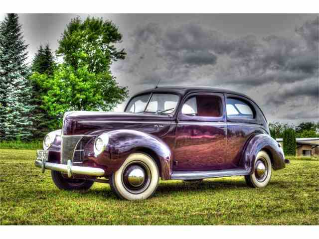 Picture of Classic '40 Ford Sedan located in Watertown Minnesota - IVPO