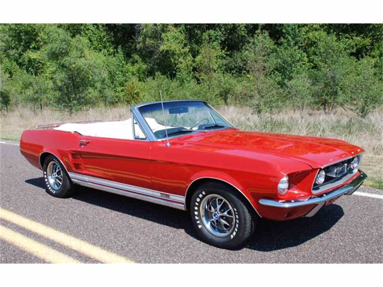 Large Picture of Classic '67 Ford Mustang located in Naples Florida - $55,000.00 - J20T
