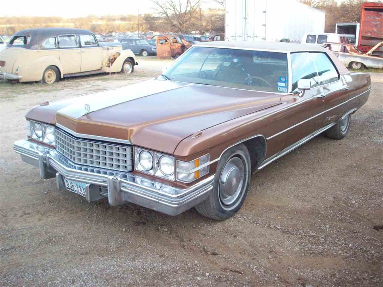 1974 Cadillac Sedan DeVille for Sale | ClicCars.com | CC-889101
