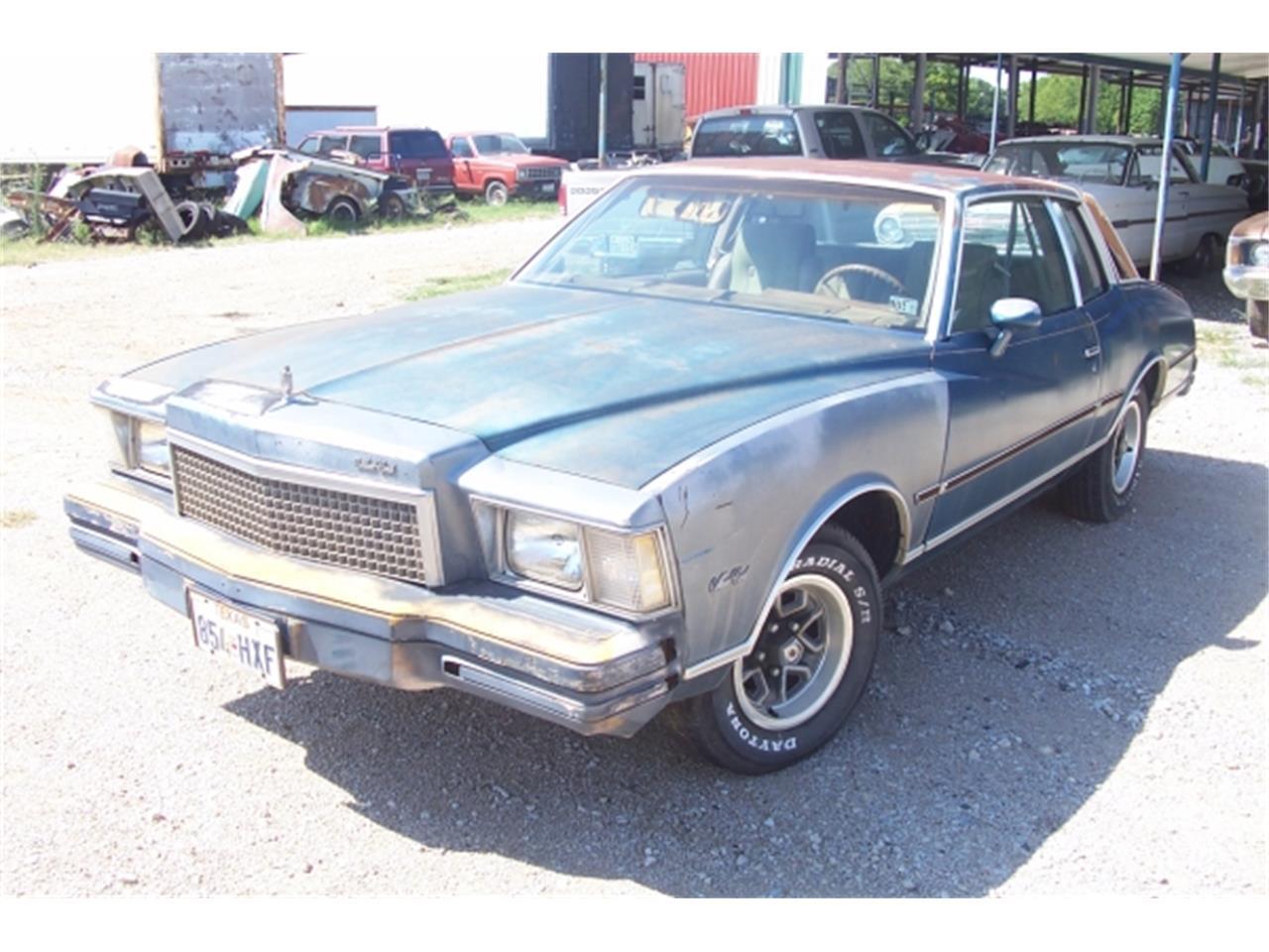 For Sale: 1978 Chevrolet Monte Carlo in Denton, Texas