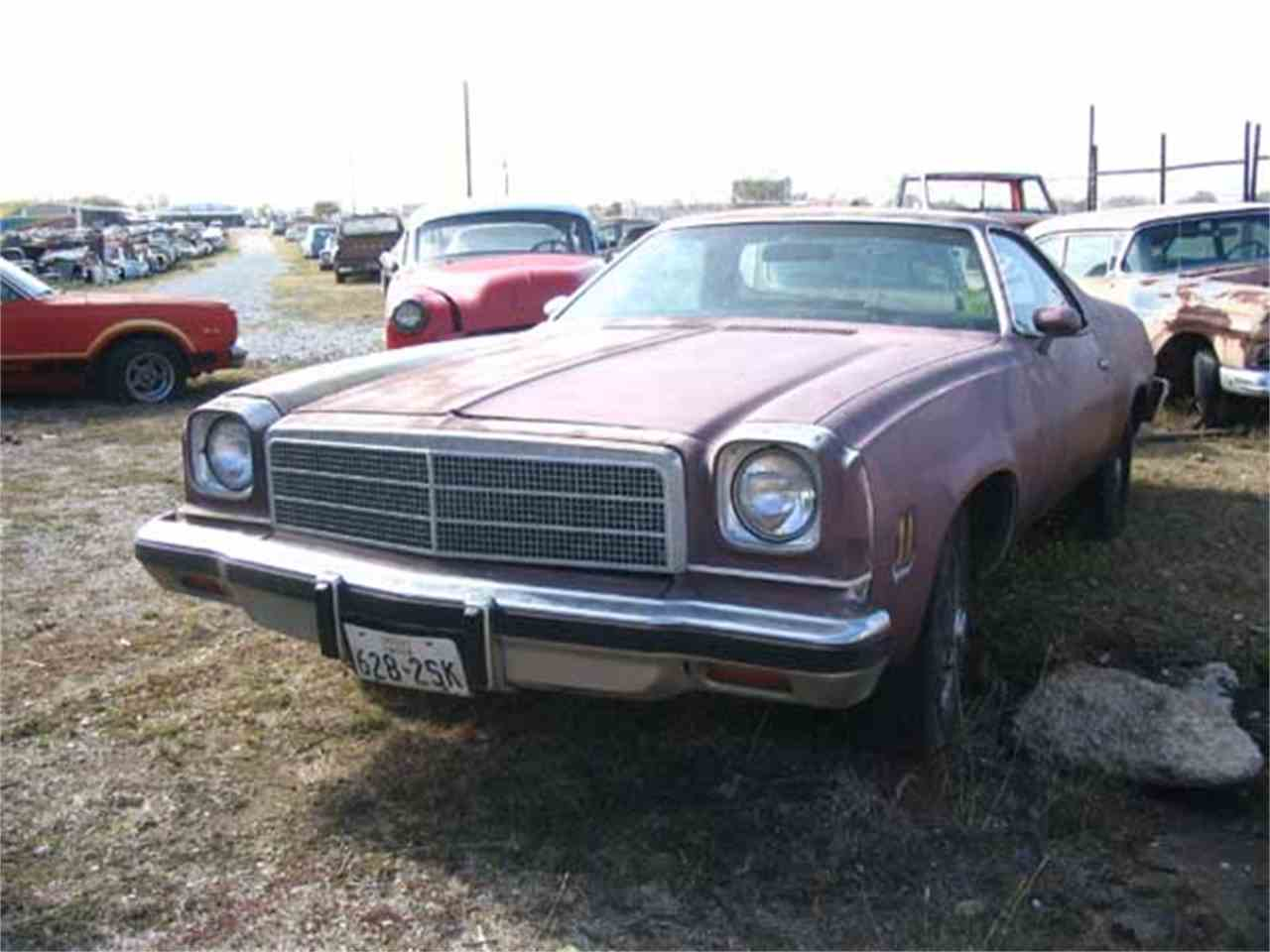 Large Picture of '74 El Camino - J21S