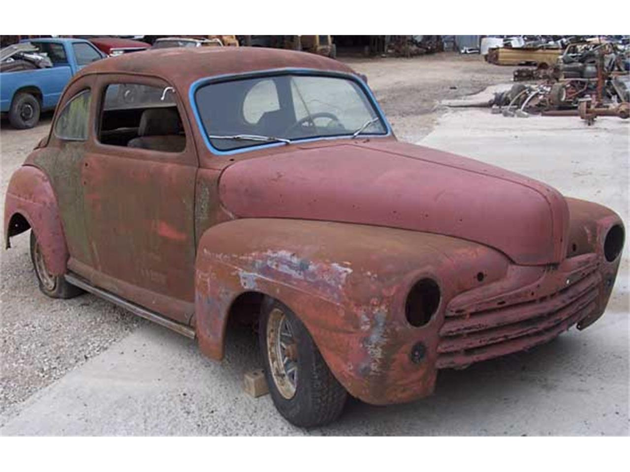 Large Picture of 1946 Ford Coupe located in Denton Texas - J21T