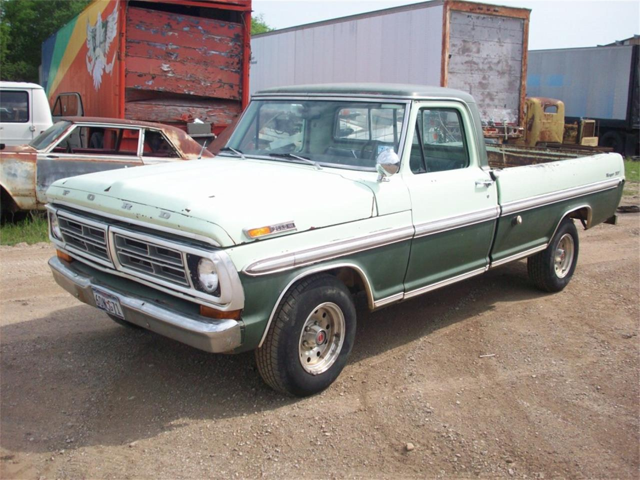 1972 Ford F150 For Sale Classiccars Com Cc 889147