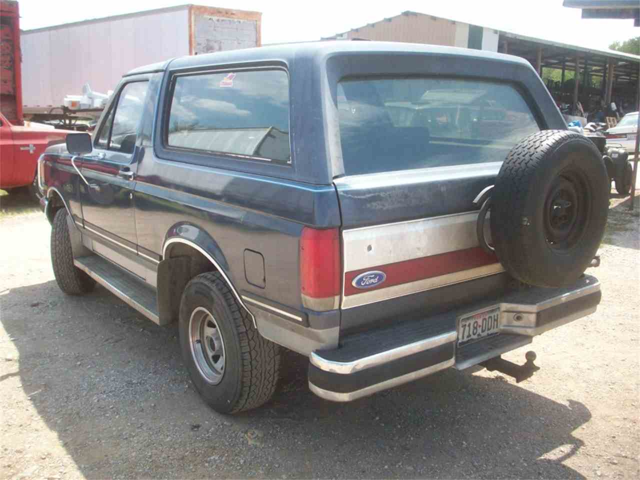Large Picture of '87 Bronco - J22N