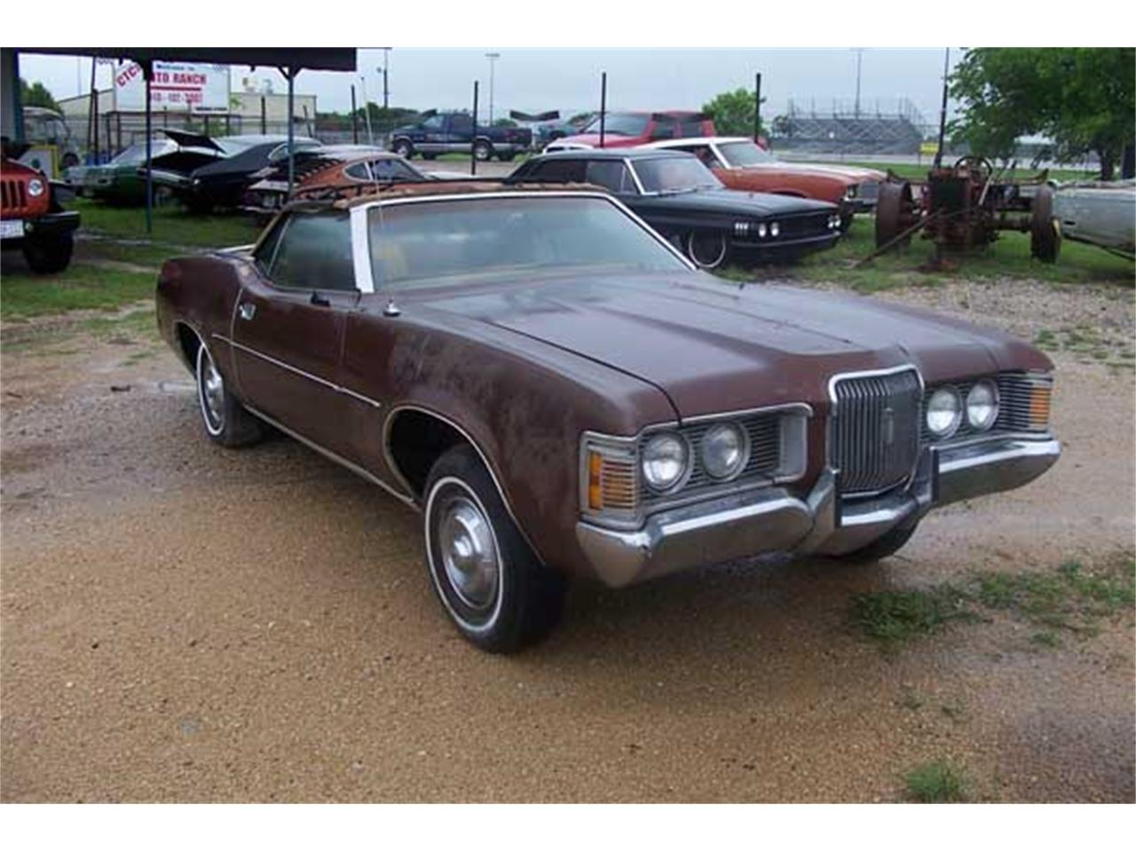 Large Picture of '72 Cougar - J22R