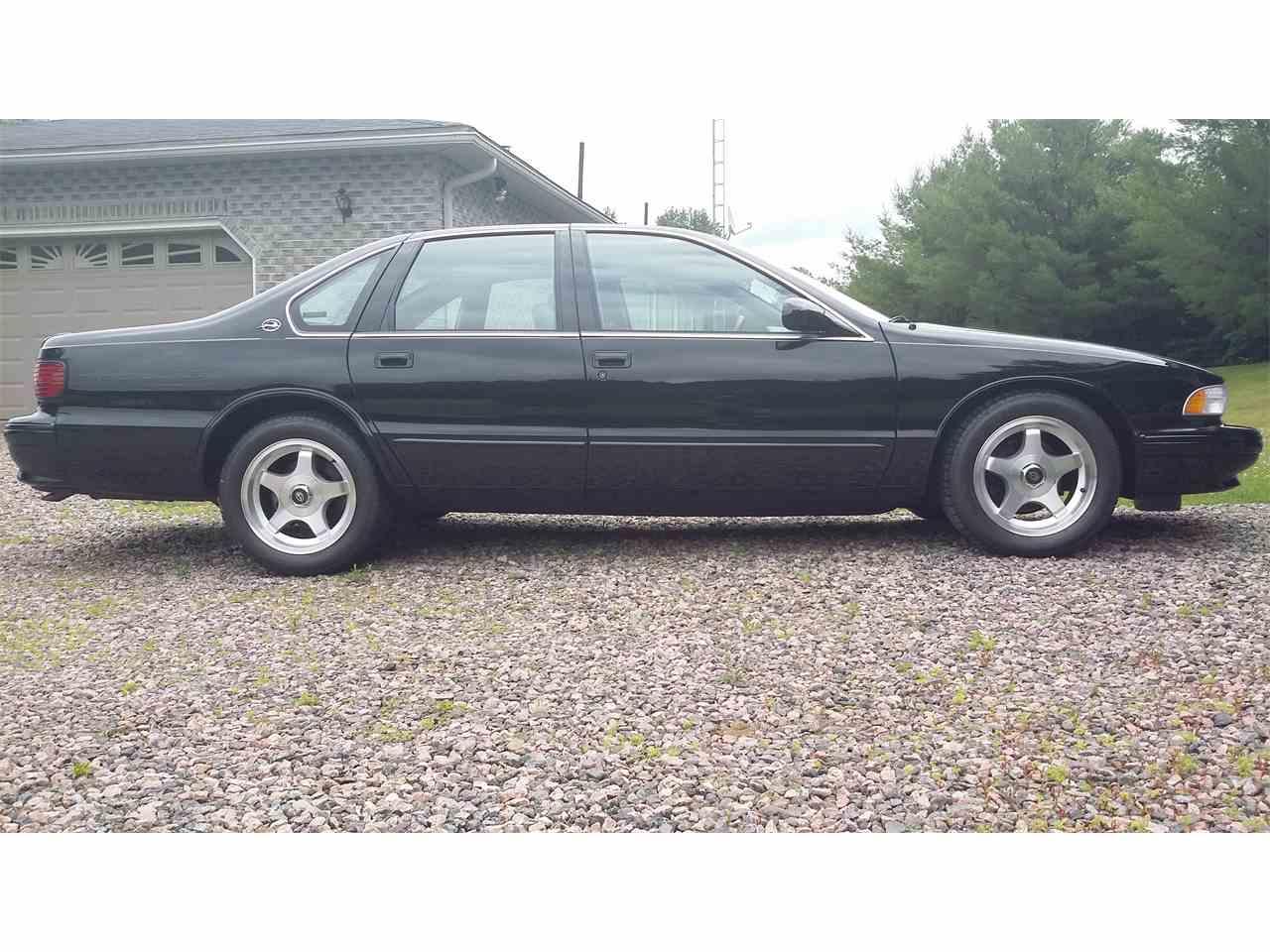 1996 chevrolet impala ss for sale cc 889270. Black Bedroom Furniture Sets. Home Design Ideas