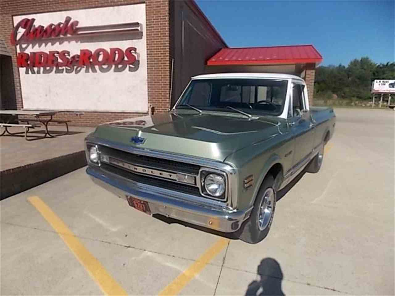 Large Picture of 1969 Chevrolet C10 SHORT BOX located in Annandale Minnesota - $18,999.00 - J2CG