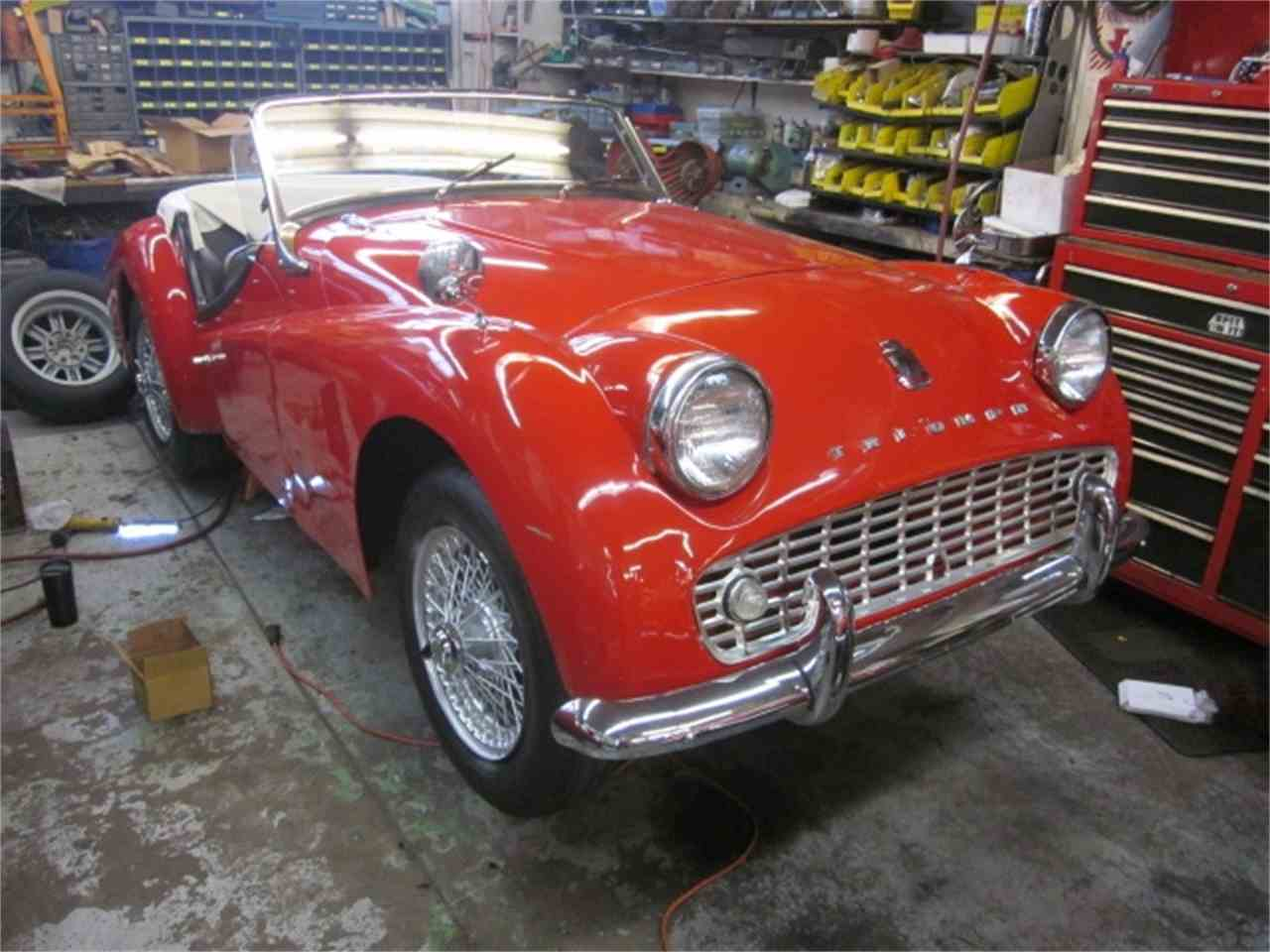 Large Picture of Classic '60 Triumph TR3A Offered by The New England Classic Car Co. - J2DF
