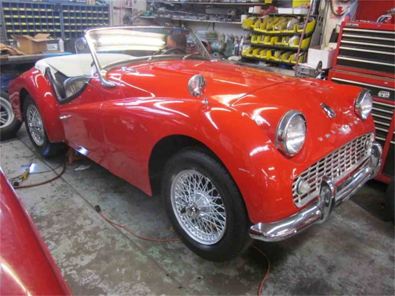 Large Picture of Classic '60 TR3A located in Stratford Connecticut Offered by The New England Classic Car Co. - J2DF