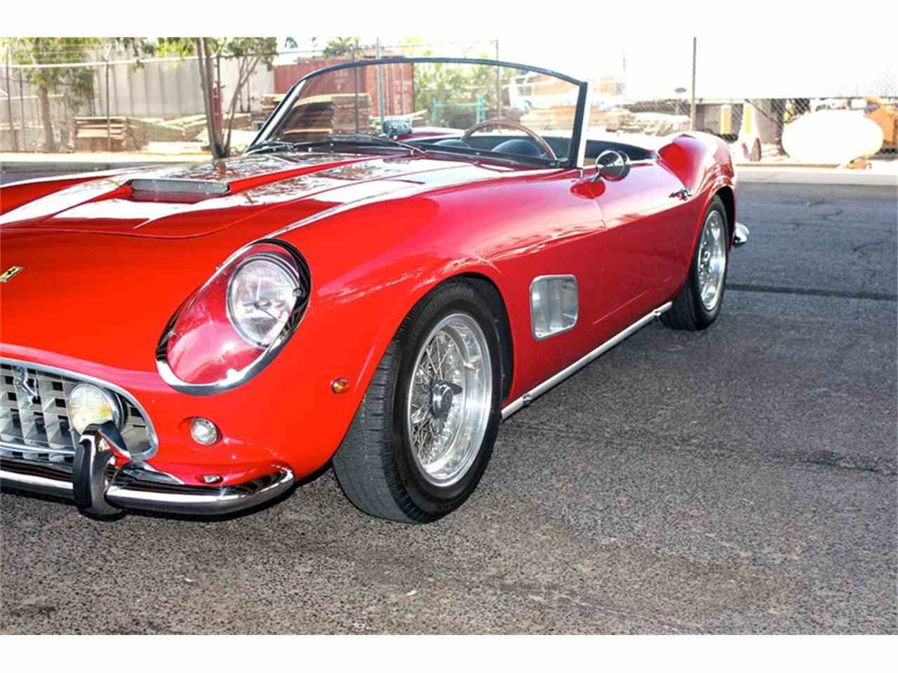 Large Picture of '63 Ferrari 250 GTE California Spyder Auction Vehicle Offered by EMG - J2E5