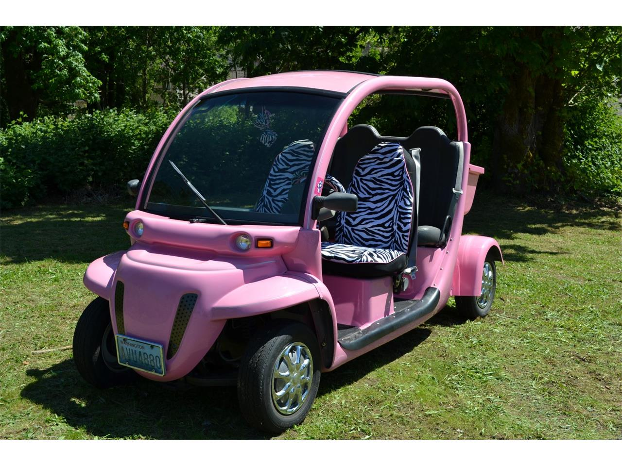 Large Picture Of 2002 Chrysler Gem E4 Electric Car Auction Vehicle Offered By Lucky Collector