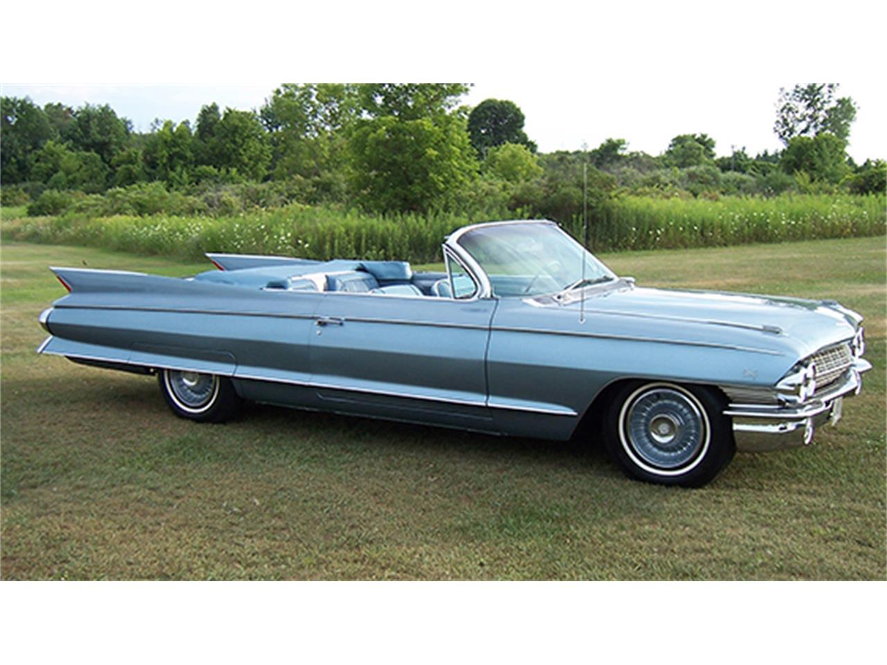 1961 Cadillac Eldorado Biarritz Convertible For Sale Classiccars El Dorado Large Picture Of 61 J3k0