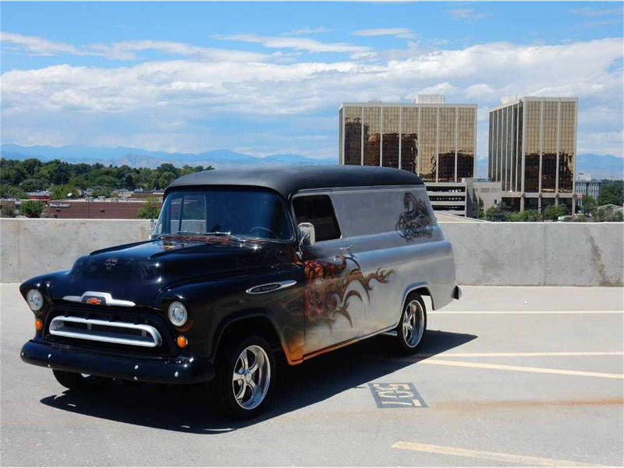 92340c012a Large Picture of  57 Chevrolet 3100 Panel Van located in Colorado -   19
