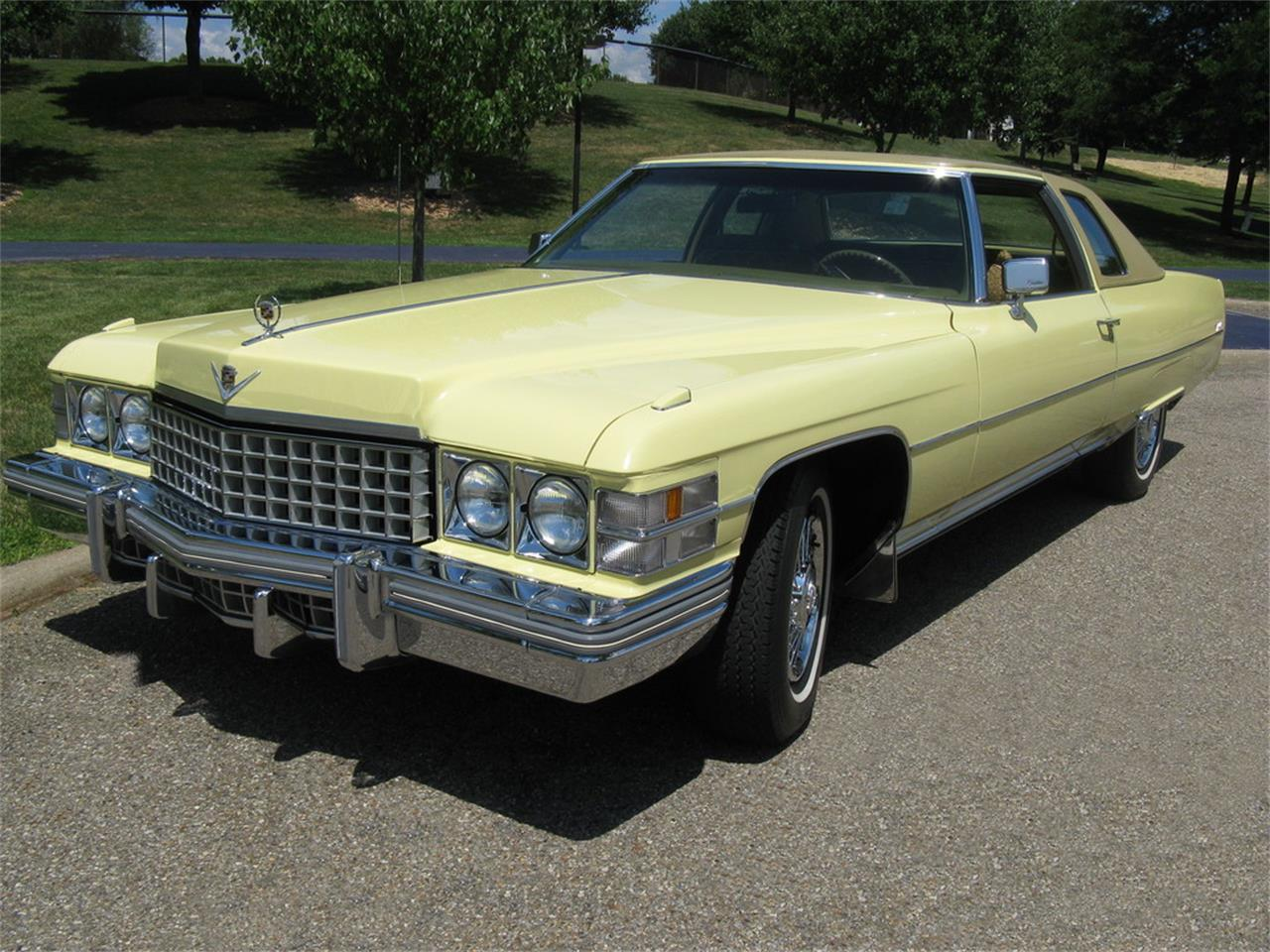 Large Picture of 1974 Coupe DeVille located in Shaker Heights Ohio - J3ZZ