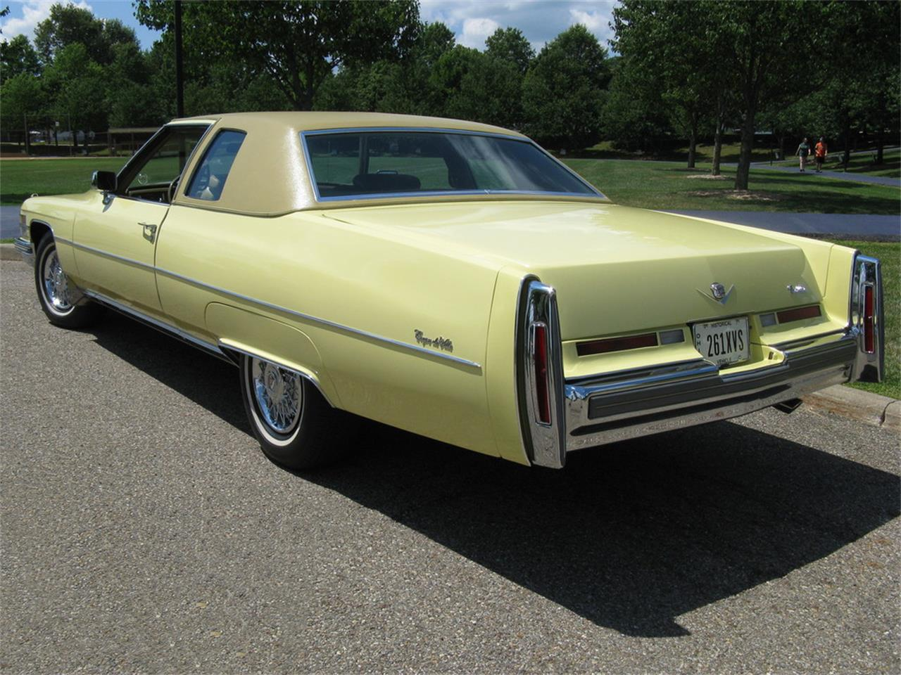 Large Picture of '74 Cadillac Coupe DeVille located in Shaker Heights Ohio - J3ZZ