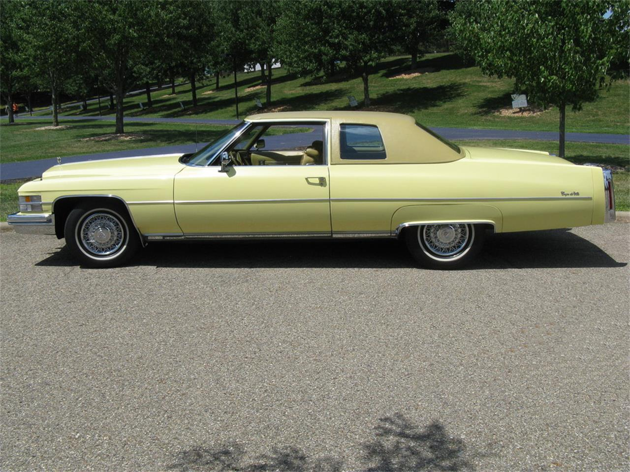 Large Picture of 1974 Cadillac Coupe DeVille - $13,500.00 - J3ZZ