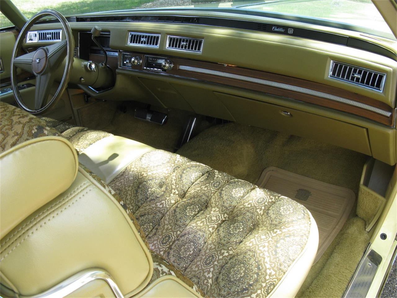 Large Picture of 1974 Cadillac Coupe DeVille located in Shaker Heights Ohio - $13,500.00 Offered by Affordable Classic Motorcars - J3ZZ