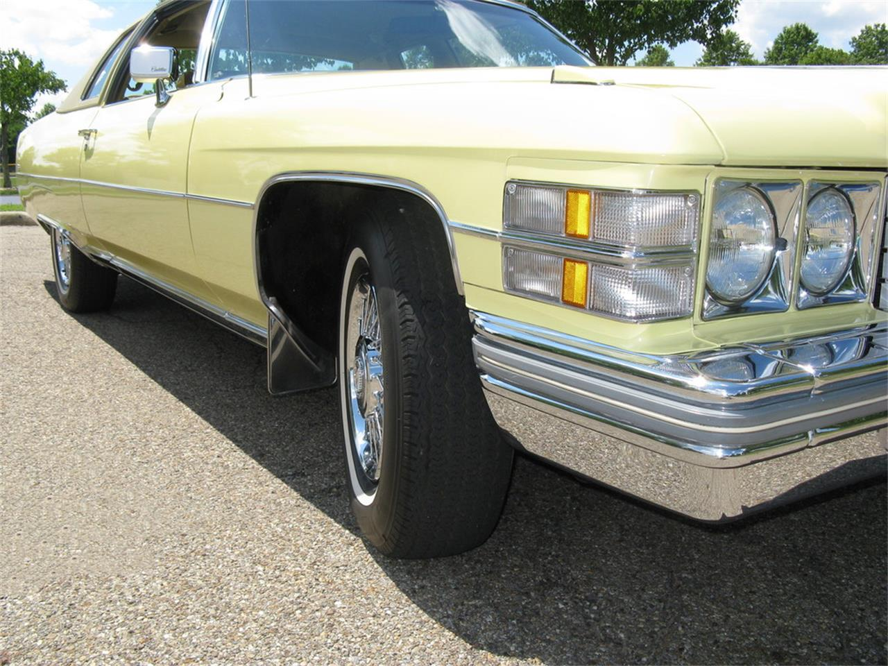 Large Picture of 1974 Cadillac Coupe DeVille located in Ohio - $13,500.00 - J3ZZ