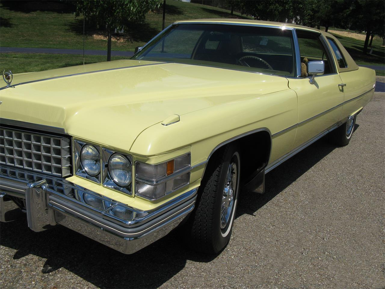 Large Picture of '74 Coupe DeVille - J3ZZ
