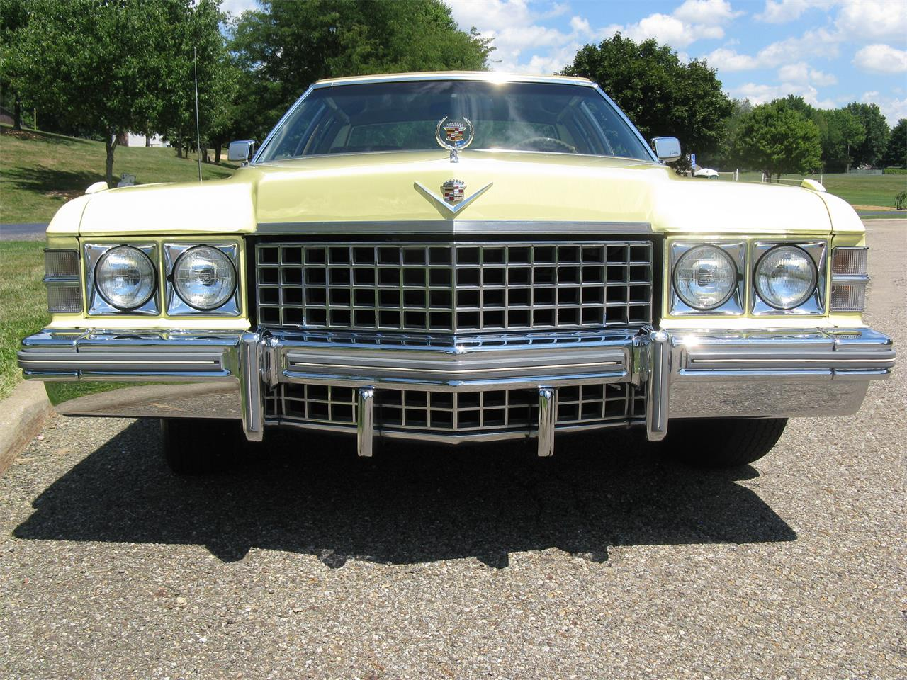 Large Picture of 1974 Cadillac Coupe DeVille located in Ohio - J3ZZ
