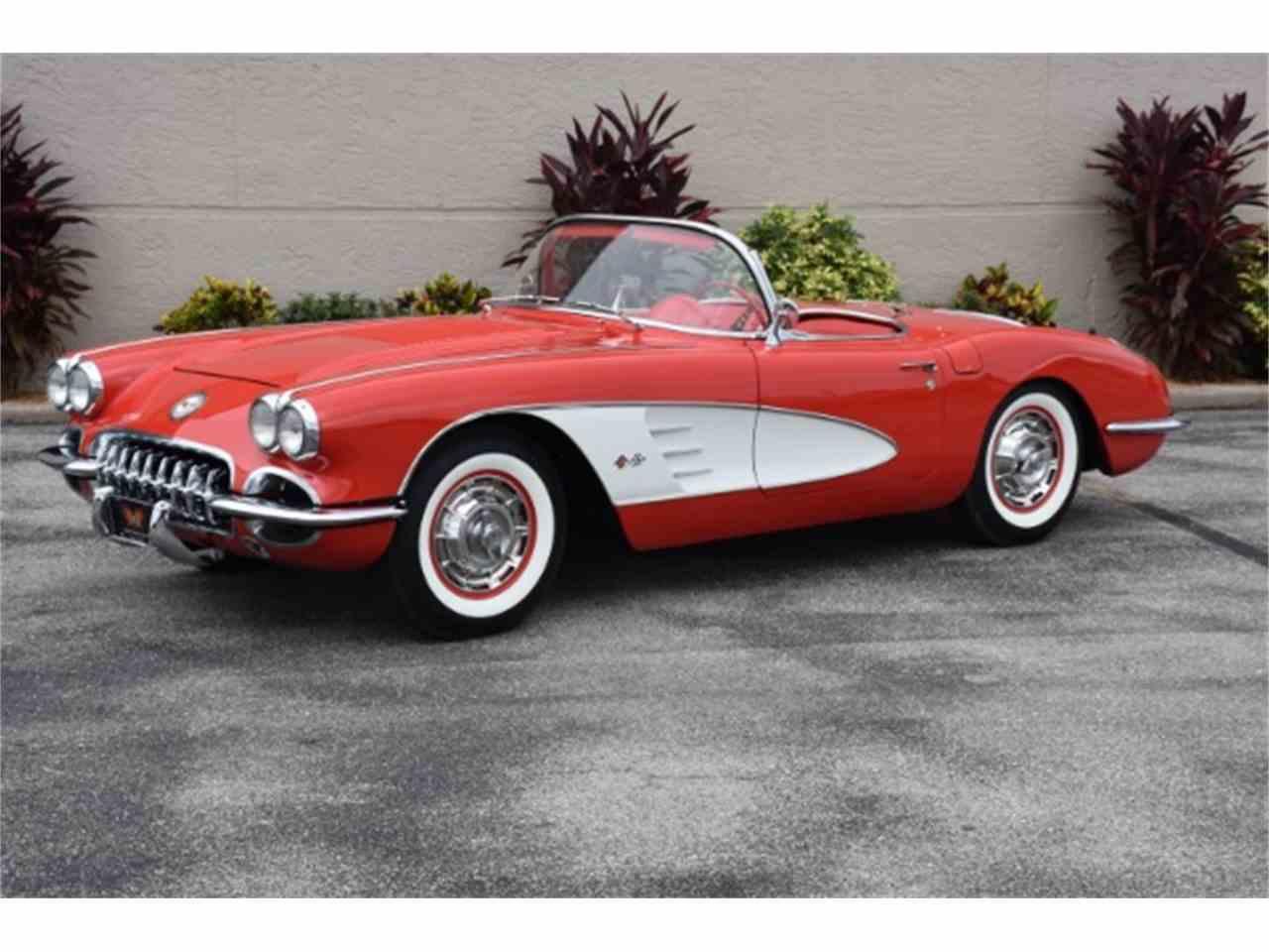 1958 Chevrolet Corvette for Sale | ClassicCars.com | CC-891733