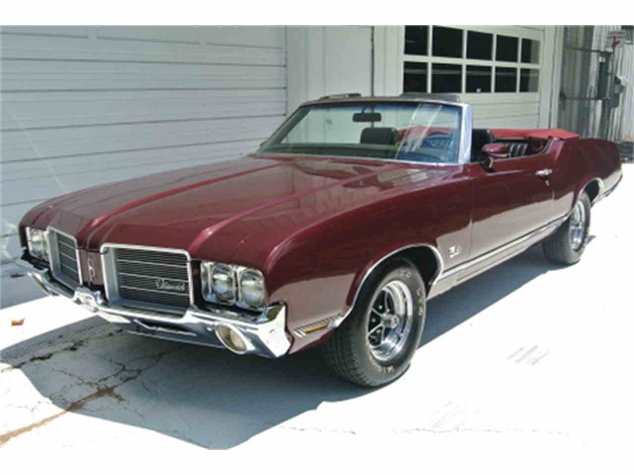 Large Picture of Classic 1971 Cutlass Supreme located in Roswell Georgia Offered by Fraser Dante - J43S